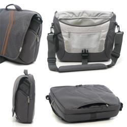 Ranipak Graphic 16-inch Unisex Padded Grey Laptop Messenger Bag