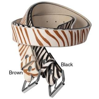 Journee Collection Women's Animal Print Belt