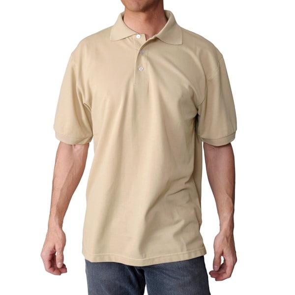 BT Sport Men's Short-Sleeve Stain-Resistant Polo Shirt
