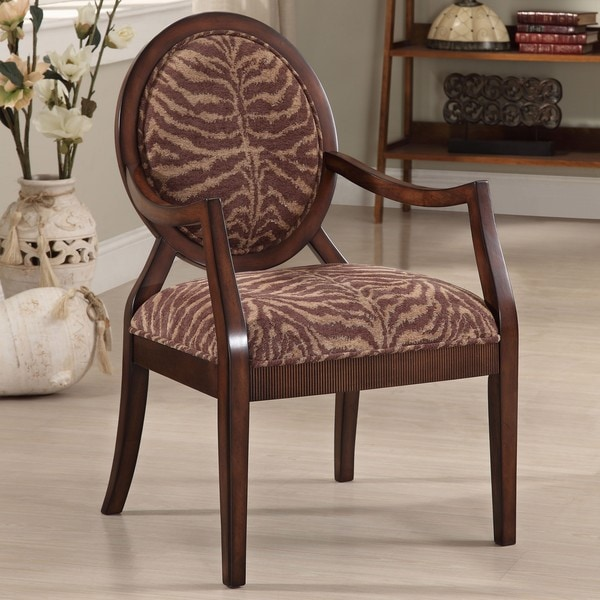 New Tiger Oval Back Chair
