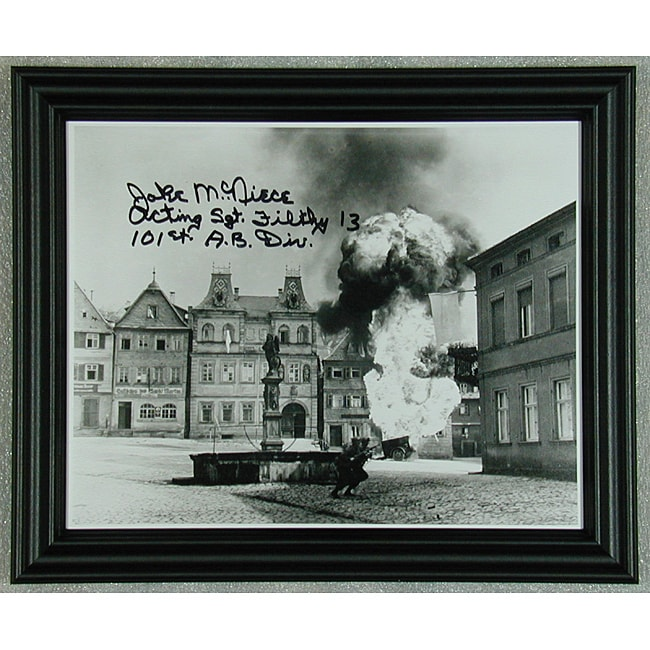 'Dirty Dozen' Autographed Photo Framed