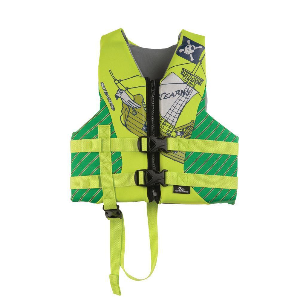 Coleman Children's Green Pirate Hydroprene Life Jacket