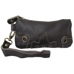 Amerileather 'Orka' Leather Wristlet Wallet