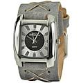 Nemesis Women's Charcoal Sunshine Leather Watch