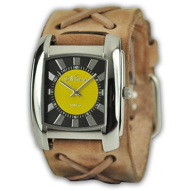 Nemesis Women's Yellow Brown Sunshine Colors Watch
