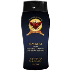 Blacklist 1000XX Bronzing Elixer Tanning Lotion (Private Reserve)
