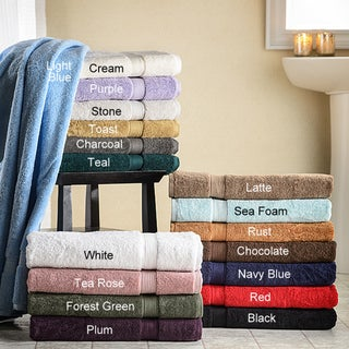 Superior Collection Luxurious 900 GSM Egyptian Cotton Hand Towels (Set of 4)