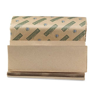 Boardwalk Green Folded Towels- Multi-Fold-