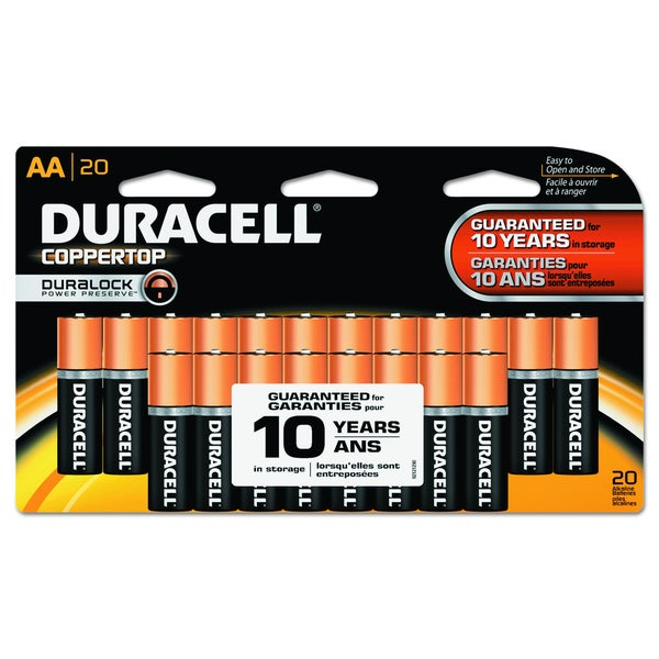 Duracell Coppertop Alkaline Batteries-