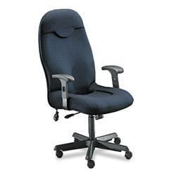 Mayline Comfort Series Charcoal Executive High-back