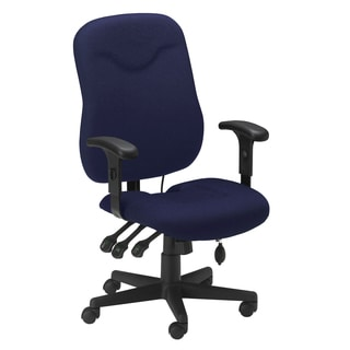 Mayline Comfort Series Blue Executive Posture Chair