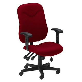 Mayline Comfort Series Burgundy Executive Posture Chair