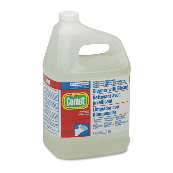 Procter & Gamble Comet Cleaner w/Bleach- Liquid-