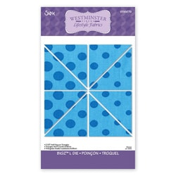 Sizzix Bigz 'Half Square Triangles' L Die