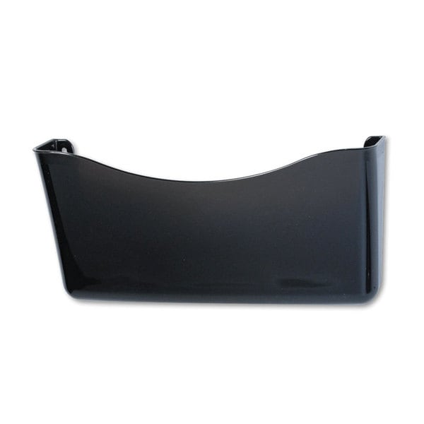 Rubbermaid Smoke Unbreakable Single Pocket Wall File