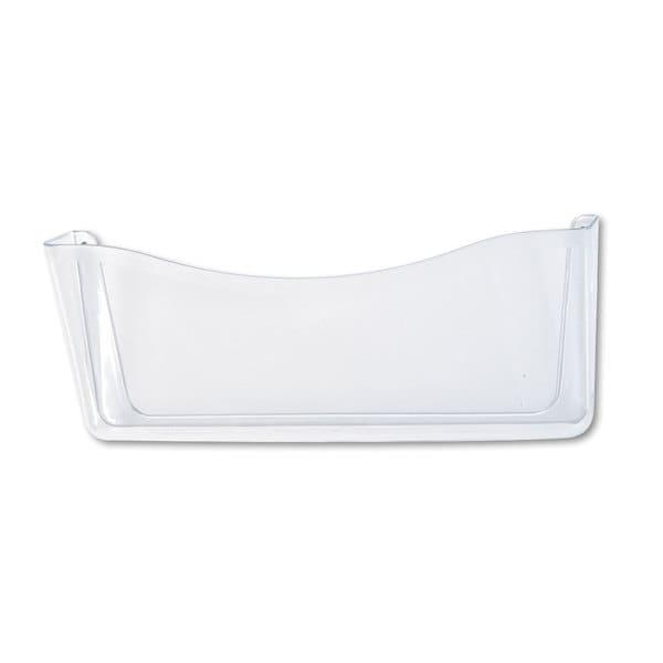 Rubbermaid Clear Unbreakable Single Pocket Wall File