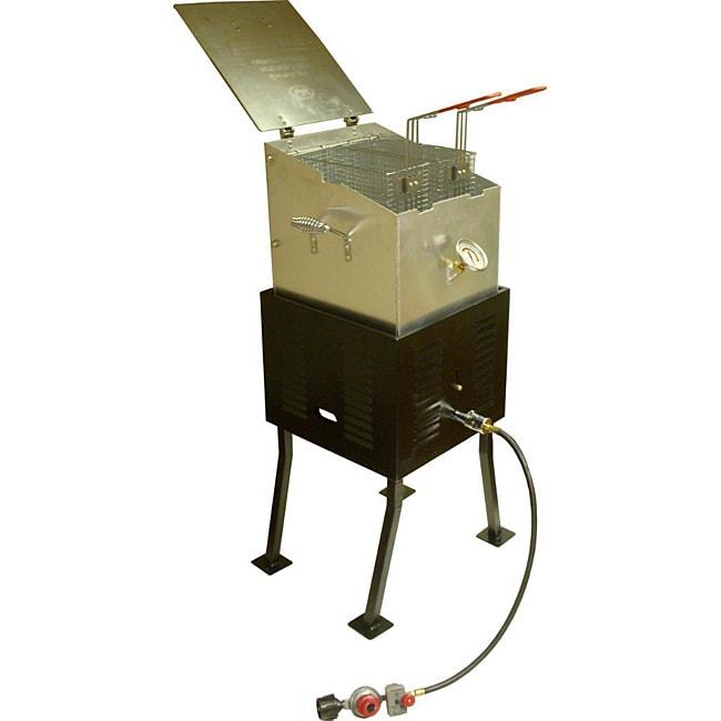 King Kooker Propane Steel Cooker Deluxe Multipurpose Unit with Aluminum Pot