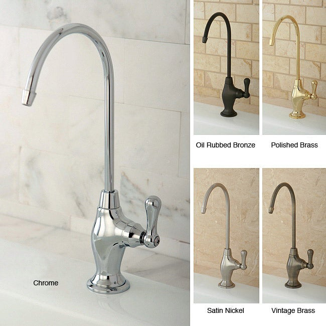 Single-Handle Brass Water Filter Faucet