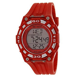 Beatech Red Alarm Clock/ Stopwatch/ Countdown Timer Watch Heart Rate Monitor