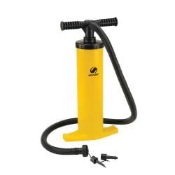 Coleman 1 PSI Dual-action Plastic Hand Pump with Universal Nozzles