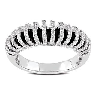 Miadora Signature Collection 18k White Gold 5/8ct TDW Diamond Ring (G-H, SI1-SI2)