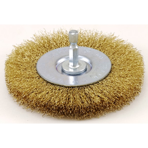 Vermont American Fine Wire Wheel Brush 3 in.