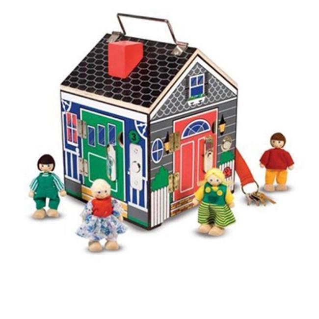 Melissa & Doug Doorbell Play House