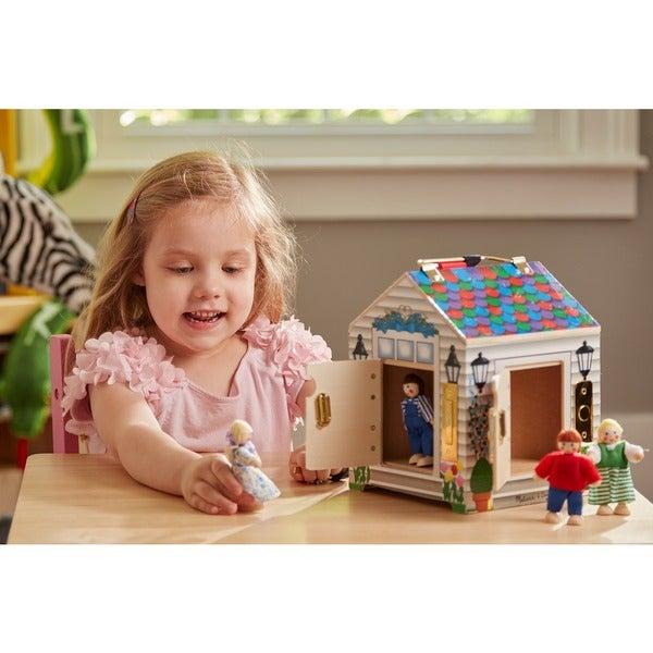 Melissa & Doug Doorbell Play House 7921863
