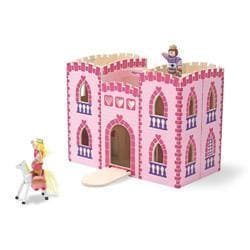 Melissa & Doug Fold and Go Princess Castle Play Set
