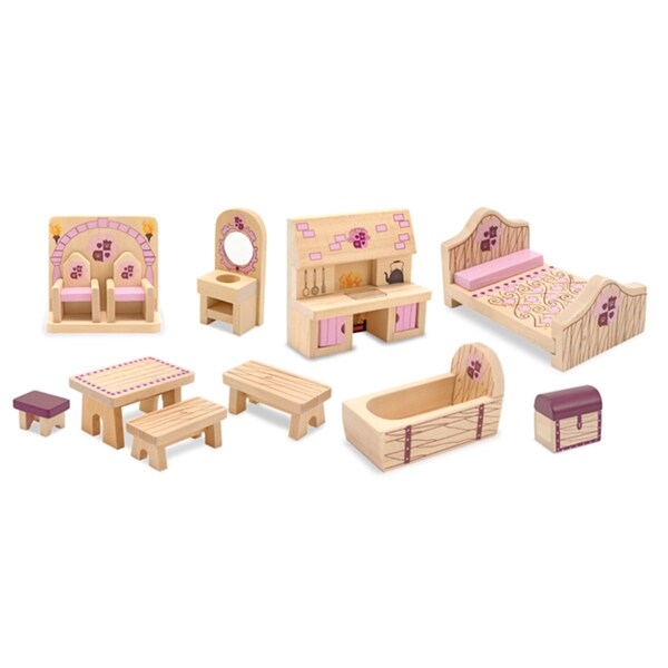 Melissa Doug Princess Castle Furniture Set 13561685 Shopping Big Discounts