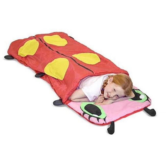 Melissa & Doug Mollie Ladybug Sleeping Bag