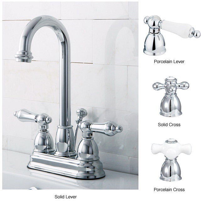Chrome High Arc Bathroom Faucet