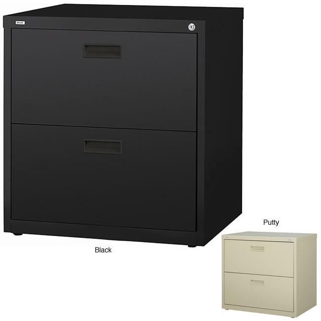 hirsh hl1000 series 30 inch wide 2 drawer commercial lateral file cabinet. Black Bedroom Furniture Sets. Home Design Ideas