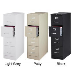Hirsh 25-inch Deep 4-drawer Letter-size Commercial Vertical File Cabinet