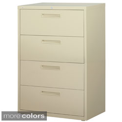 Hirsh HL5000 Series 42-inch Wide 4-drawer Commercial Lateral File Cabinet