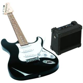 Emedia Music Eg07109 Teach Yourself Wood/Plastic Black Electric Guitar