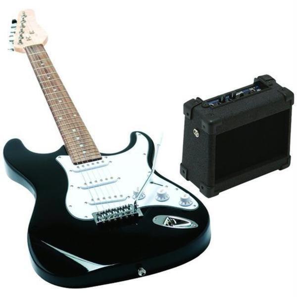Emedia Music Eg07109 Teach Yourself Wood/Plastic Black Electric Guitar