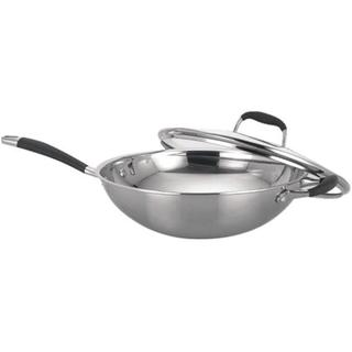 Sunpentown Living Room Appliance Stainless Steel Wok with Lid
