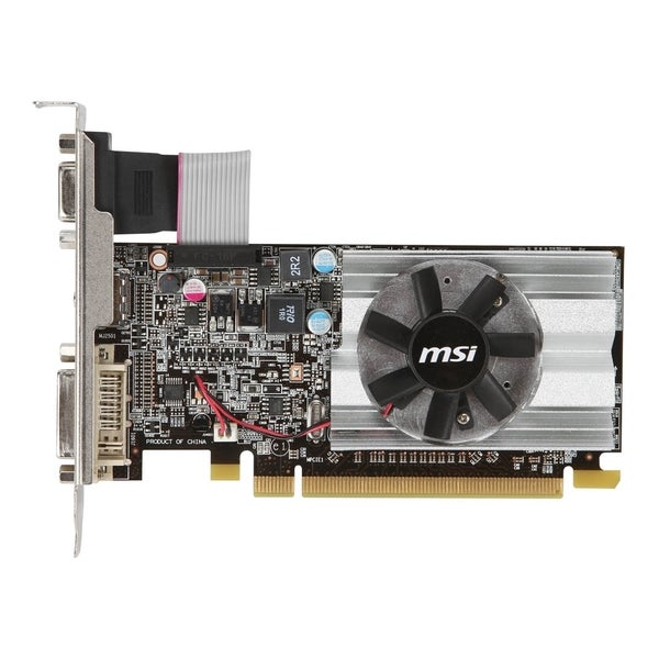 MSI R6450-MD1GD3/LP Radeon HD 6450 Graphic Card - 625 MHz Core - 1 GB