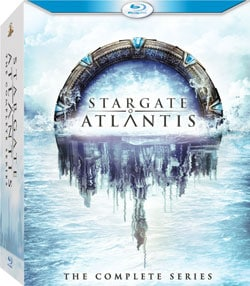 Stargate Atlantis: The Complete Series (Blu-ray Disc)