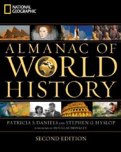 National Geographic Almanac of World History (Paperback)