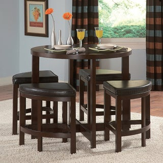 Tribecca Home Oliver 5-piece Contemporary Counter Din