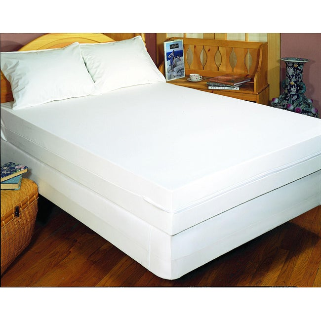 Pure Cotton Queen-size Allergy Bedding Protection Set