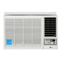 LG LW1210HR 12,000-BTU Heat and Cool Window Air Conditioner with Remote (Refurbished)