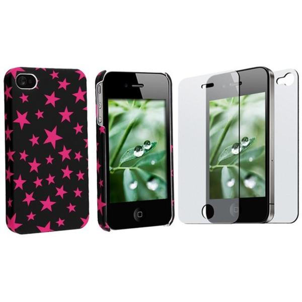 Slim Fit Case/ Screen Protector for Apple iPhone 4