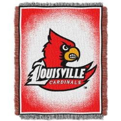 Northwest Louisville Cardinals Focus Jacquard Throw