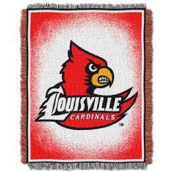 Northwest Louisville Cardinals Focus Jacquard Throw