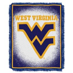 Northwest West Virginia Mountaineers Focus Jacquard Throw