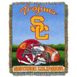 Northwest USC Trojans Homefield Tapestry Throw