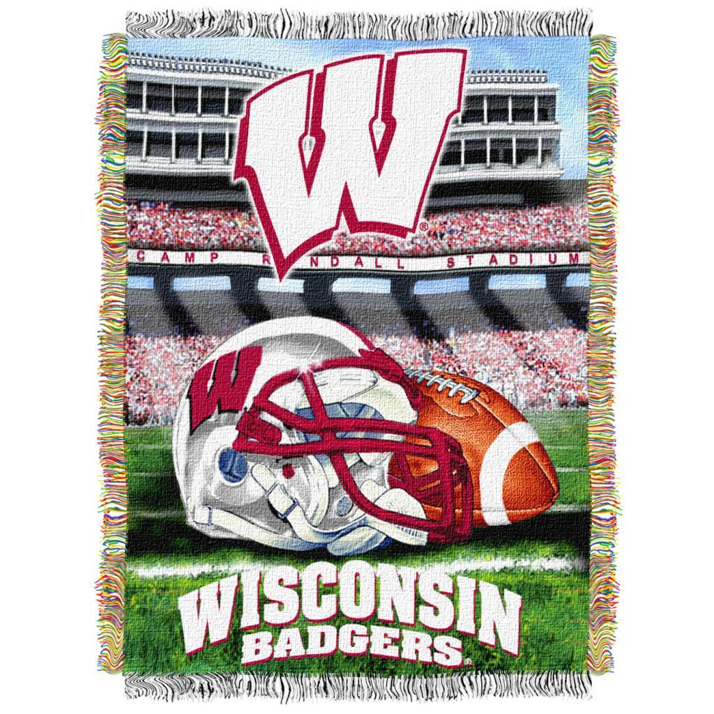 Northwest Wisconsin Badgers Homefield Tapestry Throw